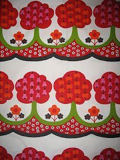 old printfabric Ice Tray, Fabrics, Retro, Tejidos, Fabric, Textiles, Cloths, Retro Illustration, Mid Century