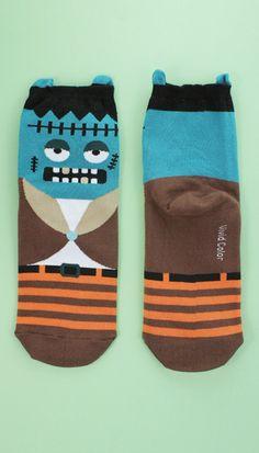 $3.5 26 Frankenstein Socks http://tprbt.com/frankenstein-socks.html