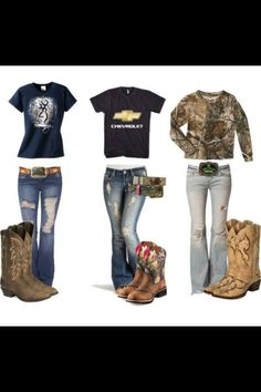 Country girl outfits <33