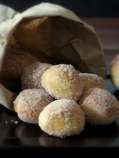 Baked Donuts - normally hate working with yeast dough, but may have to give this recipe a try