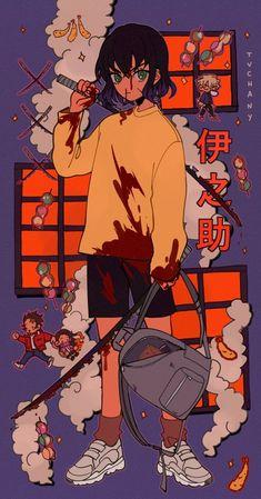 Demon Slayer: Kimetsu No Yaiba manga online Manga Art, Manga Anime, Anime Art, Cartoon Kunst, Cartoon Art, Aesthetic Art, Aesthetic Anime, Anime Shop, Character Art