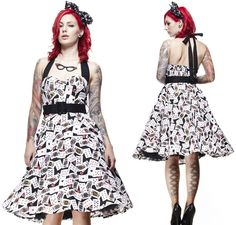Pokerface 50's  Dress by Hell Bunny - SALE