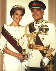 Queen Noor and King Hussein of Jordan (image hosted by…