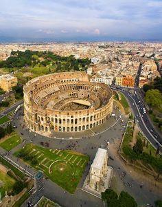 El Coliseo, Roma, Italy