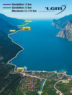 """Am Sonntag, den 12 Oktober 2014 findet zum 7. Mal der """"International Lake Garda Marathon"""" statt."""