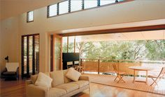 Passive Design - is design that takes advantage of the climate to maintain a comfortable temperature range in the home.  Passive design eliminates the need for assistant heating or cooling which accounts for 40% of energy use in the average Australian home.
