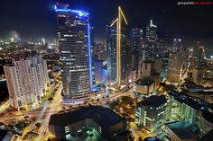 Makati skyline Im Coming Home, Work Motivation, Next Holiday, Makati, Where The Heart Is, Places Ive Been, Philippines, Times Square, Bucket