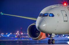 Night Flight - Boeing 787 Dreamliner