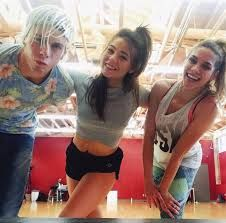 Riker, Allison, Britney