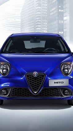 Alfa Romeo Mito Veloce (955), Geneva Auto Show 2016, hatchback, blue