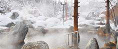 八雲 温泉旅館│パシフィック温泉ホテル清龍園 98℃で自噴する温泉に、加水で温度調整 Na塩化物硫酸塩泉 Hokkaido Japan