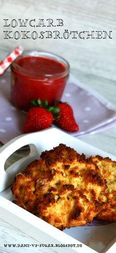 Süße Lowcarb Kokos Brötchen fürs Frühstück…