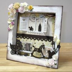Square Shadow Box #mic3Dkits #makeitcrafty