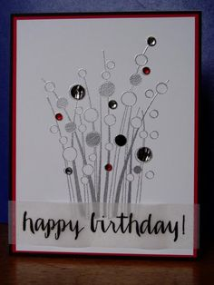 Spring Gems Birthday by Ink-Creatable WOH - Cards and Paper Crafts at Splitcoaststampers Birthday Cards For Friends, Invitation Cards, Invitations, Hero Arts, Paper Crafts, Card Crafts, Creative Cards, Diy Cards, Cardmaking