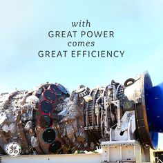 The heavy-duty gas turbines are the most efficient in their class and are an industry leader in power generation. Learn more about GE Power's gas turbine. Steam Turbine, Turbine Engine, Electric Jet Engine, Jumbo Jet, Nuclear Energy, Great Power, Science, General Electric, Big Game