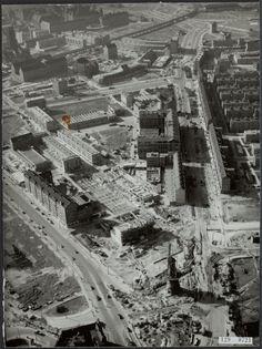 Oostplein in 1954.