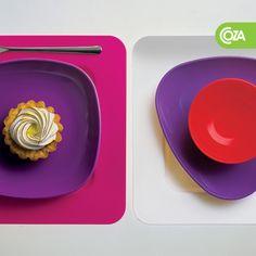 Você é daqueles que já senta para comer com o celular na mão pra tirar foto?      Com a linha de produtos Coza as fotografias ficam ainda mais bonitas e coloridas!    http://www.coza.com.br/blog/2012/07/comer-e-clicar/