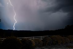 A shocking storm rolls over the Blue Ridge Mountains around The Red Horse Inn.