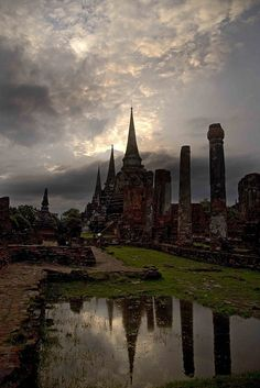 Ayutthaya, the anicient captial of Thailand {by Darren Wilch}