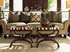 Tommy Bahama Royal Kahala Edgewater Living Room Set | TO769933SET