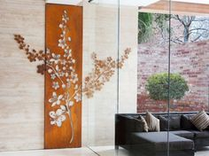 36 best corten garden panels images on pinterest corten. Black Bedroom Furniture Sets. Home Design Ideas