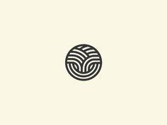 Tree + Textile by Julius Seniūnas Brand Identity Design, Branding Design, Logo Luxury, Textile Logo, Sun Logo, Organic Logo, Tree Logos, Typography Logo, Cool Logo