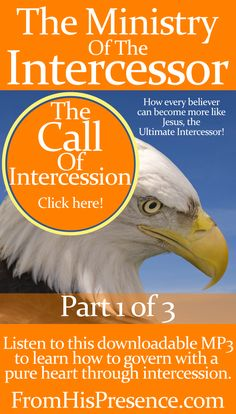 #Intercession is for you! Here's how to answer the call, intercede with power, and become more like Jesus, the Ultimate Intercessor, than ever! Instantly-downloadable MP3. #God #Scripture