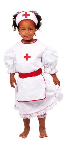 """obviously this is not a """"multicultural"""" toy, but just a real nice nurses outfit on a gorgeous black girl, but because i like it a lot, it still made it on this list Halloween Kostüm, Halloween Costumes, Nursing Clothes, Halloween Decorations, Ronald Mcdonald, Peplum Dress, Harajuku, Snow White, Carnival"""