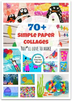 70+ Simple Paper collages Youll love to make now 70 Simple Paper collages You'll love to make1 photo