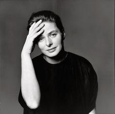 Ingrid Bergman   New York, 1961  Photograph by Richard Avedon