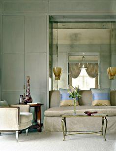 Living Room in Dallas, TX by Jan Showers & Associates