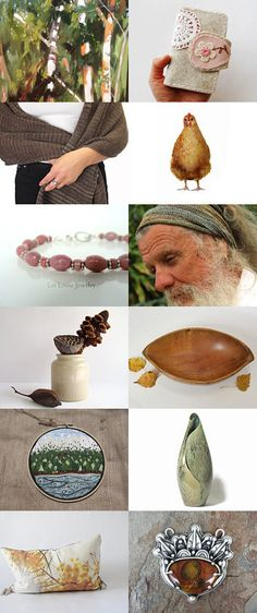 Warm Earth by Cathy on Etsy--Pinned+with+TreasuryPin.com