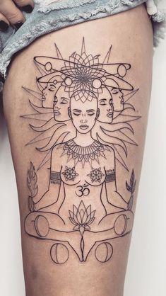 51 best ideas for tattoo girl face art - various. - - 51 best ideas for tattoo girl face art – various. Neue Tattoos, Body Art Tattoos, Sleeve Tattoos, Small Tattoos, Hand Tattoos, Tattoo Girls, Girl Tattoos, Tatoos, Buddha Tattoos