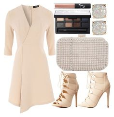 """""""Pretty Box Clutch"""" by dreaming-wonderland ❤ liked on Polyvore featuring ALDO, Jane Norman, Charlotte Russe, NARS Cosmetics, Kate Spade, women's clothing, women's fashion, women, female and woman"""