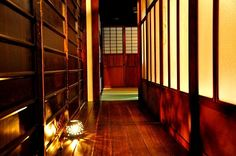 Photo from a guest house in Kyoto, Japan.