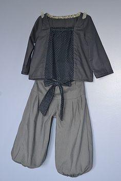tilleul de lou and me (adaptation)  pantalon sarouel