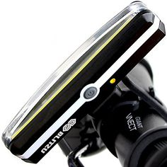 SUPER BRIGHT Bike Light Blitzu Cyborg USB Rechargeable Headlight Helmet Front Light Accessories High Intensity LED Fits on any Bicycles Easy To install for Cycling Safety Flashlight * See this great product. Bicycle Lights, Bike Light, Helmet Light, Bicycle Headlight, Cycling Accessories, Bicycle Maintenance, Bicycle Design, Flashlight, Bright