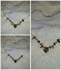 Tigers eye necklace.