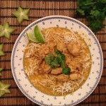 Kylling i fed thai-karry