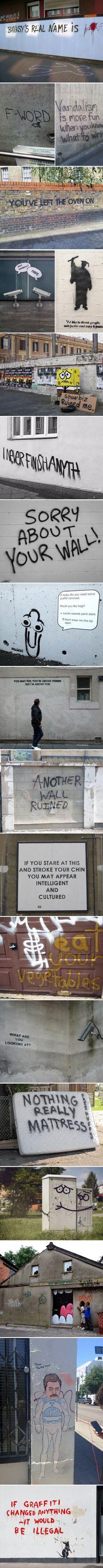Some funny Graffitis