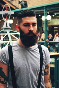 tattoos ink beard mens hair chris john millington asifthisisme