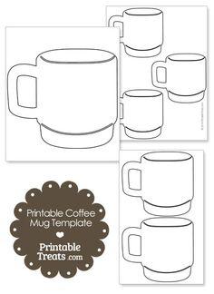hot cocoa mug template - Bing Images | Classroom Holiday Fun ...