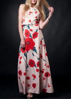 #maxidresses #flowerdresses #lightpinkdresses #summerdresses #saledresses #beautydresses Late Summer, Summer Sale, Poppies, Dresses, Fashion, Vestidos, Moda, Fashion Styles, Poppy