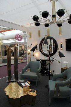 Decorex International London UK BRABBU trade show interior