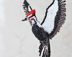 Collar pájaro Bird estatuilla moldeado aves de ornamento