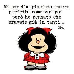 Le perle di fine giornata #mafalda #cinziagrazie #diversità #ilmondoebelloperchevario by marikatantucci