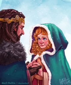 Erebor Snow by Mad-Hattie on DeviantArt | rule-63'd!fem!Bilbo/Thorin