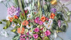 Вальс цветов или вышивка лентами
