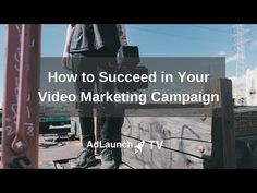 On AdLaunch TV: How to Succeed in Your Video Marketing Campaign. We listed 5 keys factors you should pay attention to. Check out https://adlaunch.com to … source