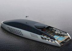 Amazing Yachts: Sveti superyacht concept designed by Pastrovich Studio